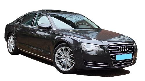 Audi A8 Taxivervoer